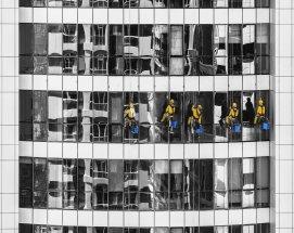 Bürogebäudereinigung und Fensterreinigung